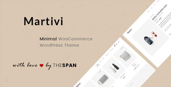Martivi - Minimal WooCommerce WordPress Theme - WooCommerce eCommerce