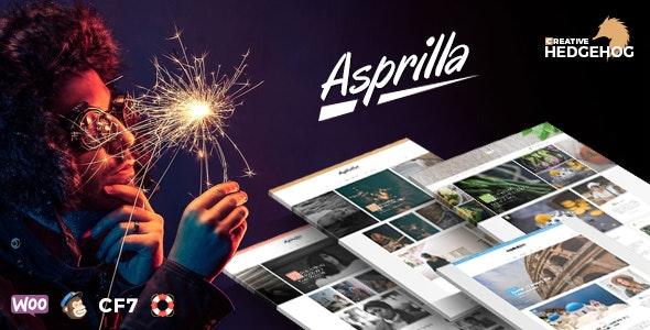 Asprilla - a Multi-Concept Blog Theme For WordPress - Personal Blog / Magazine
