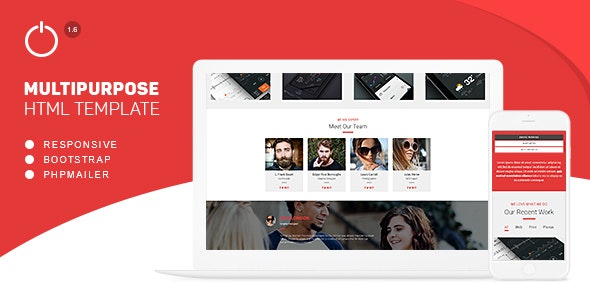 One Solution - Multipurpose HTML Template - Technology Site Templates