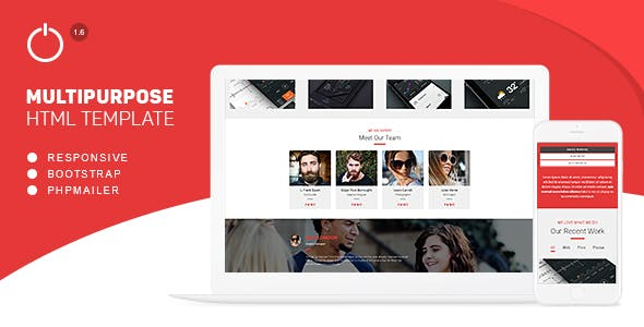 One Solution - Multipurpose HTML Template