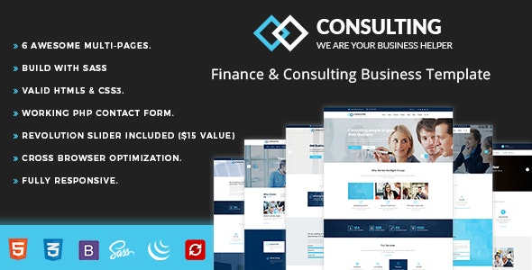 Consulting - Finance - Business Corporate
