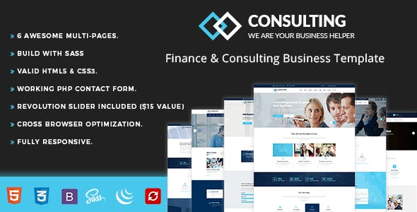 Consulting - Finance