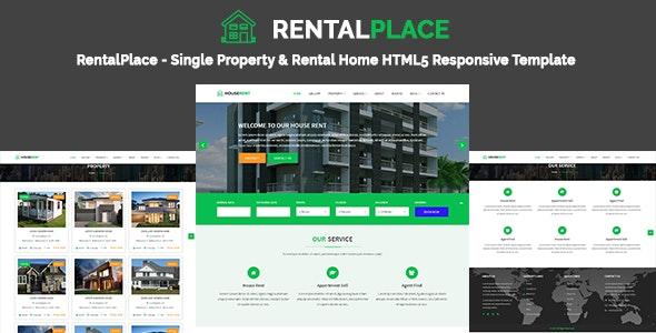 RentalPlace - Single Property & Rental Home HTML5 Responsive Template - Business Corporate