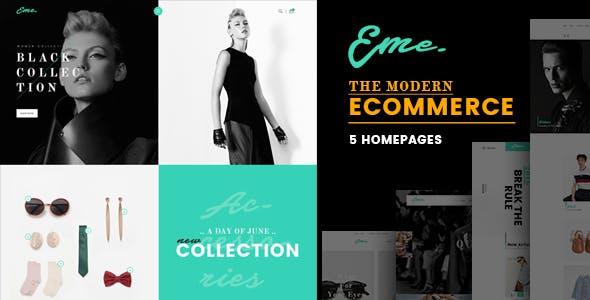 Eme - Fashion Shop eCommerce HTML Template