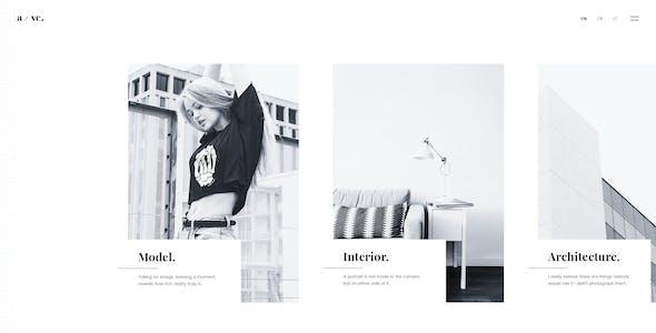 Fotico – Photography PSD Template