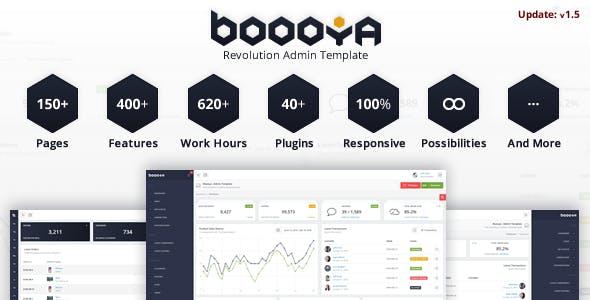 Boooya - Revolution Admin Template