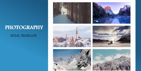 Photography | html template - Photography Creative