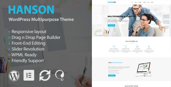 Hanson - Multipurpose WordPress Theme - Business Corporate