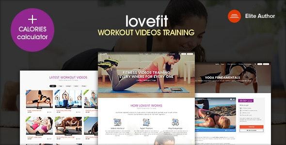 Lovefit - Fitness Video Training - Health & Beauty Retail