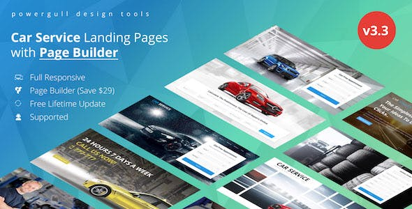 Avados - Car Repair Services Landing Pages with Page Builder