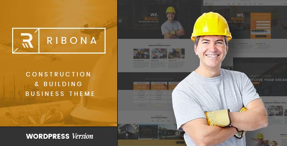 VG Ribona - WordPress Theme for Construction, Building Business