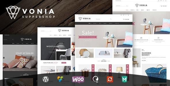 VG Vonia - Minimalist, Clean WooCommerce Theme - WooCommerce eCommerce