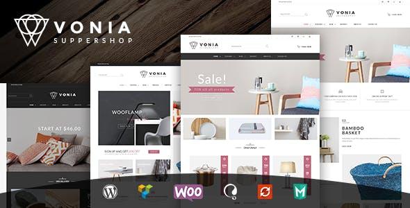 VG Vonia - Minimalist, Clean WooCommerce Theme