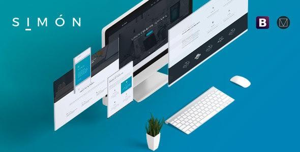 Simón -  Creative Agency, Corporate and Multi-purpose Template - Corporate Site Templates