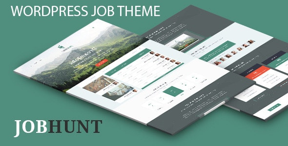JobHunt WordPress Theme - Miscellaneous WordPress