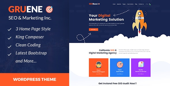 Gruene - Digital Marketing WordPress Theme by template_path