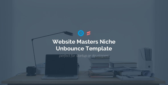 Website Masters - Niche Developers Unbounce Template - Unbounce Landing Pages Marketing