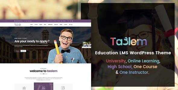 Taalem – Education LMS WordPress Theme