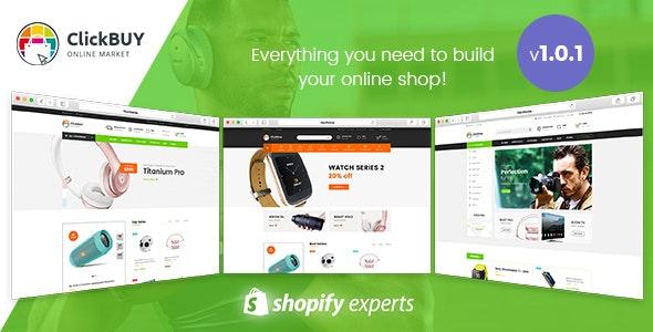 ClickBuy - Multi Store Responsive Shopify Theme - Shopify eCommerce
