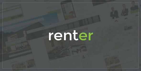 Renter — Property Rent/Sale Real Estate Agency & Realtor Responsive WordPress Theme - Real Estate WordPress
