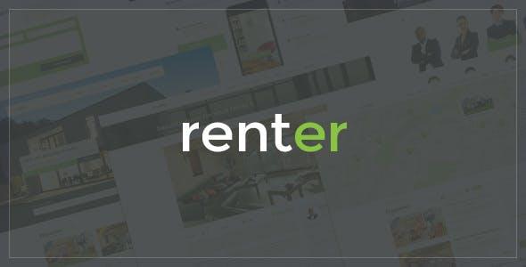 Renter — Property Rent/Sale Real Estate Agency & Realtor Responsive WordPress Theme