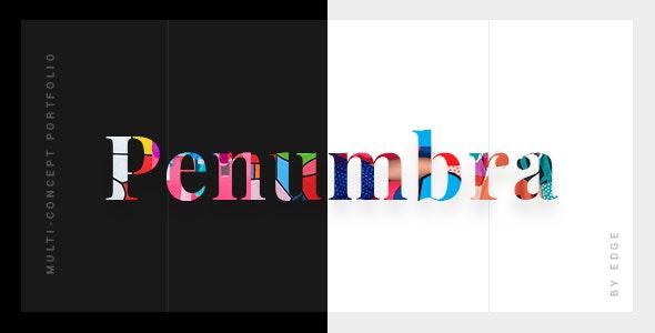 Penumbra - Multi-Concept Design Portfolio Theme - Portfolio Creative