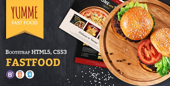 Yumme - Food Court Responsive HTML Template - Food Retail
