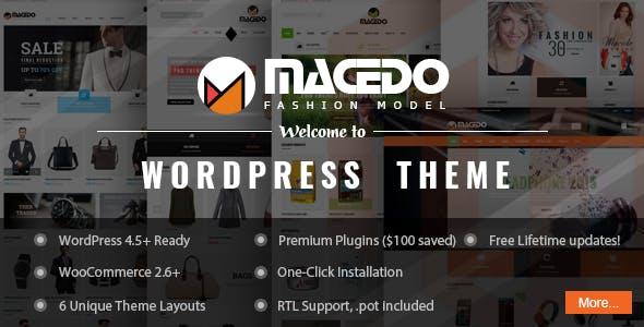 VG Macedo - Fashion Responsive WordPress Theme