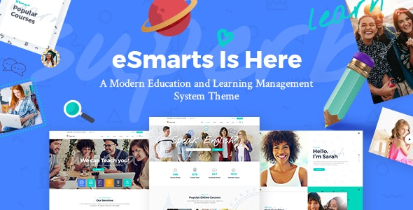 eSmarts - Education & LMS Theme - Education WordPress