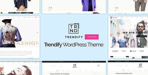 Trendify - Fashion eCommerce WordPress Theme - Fashion Retail