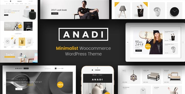 Anadi - WooCommerce Furniture WordPress Theme