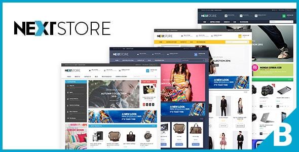 Ap NextStore Responsive Bigcommerce Theme Template - BigCommerce eCommerce
