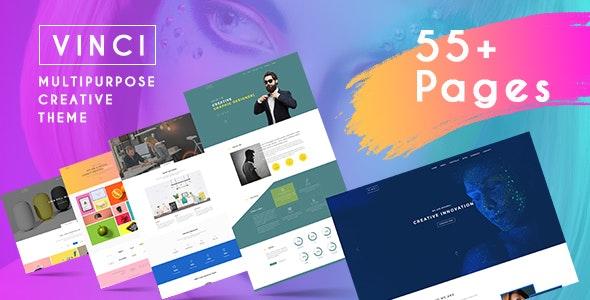 Vinci - Creative Multi-Purpose HTML Template - Business Corporate