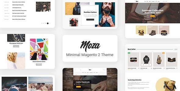 Moza - Minimal Magento 2 Theme - Fashion Magento