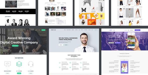 Meryt | The Multi-Purpose HTML5 Template - Corporate Site Templates