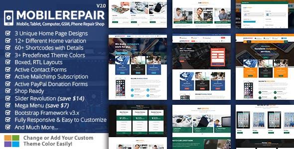 Mobile Repair HTML