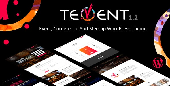 Tevent - Conference & Event WordPress Theme - Events Entertainment