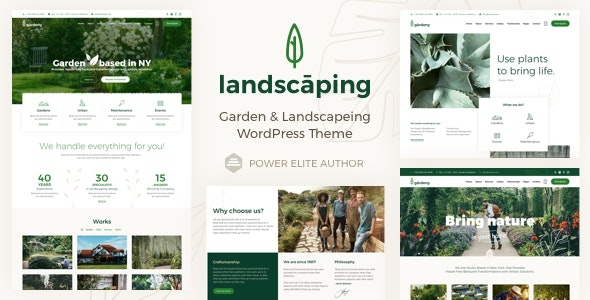 Landscaping - Garden Landscaper - Business Corporate