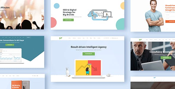 Growth Hack Templates from ThemeForest
