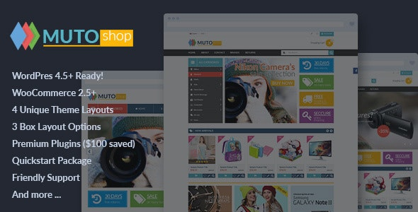VG Muto - Mega Shop Responsive WooCommerce Theme - WooCommerce eCommerce