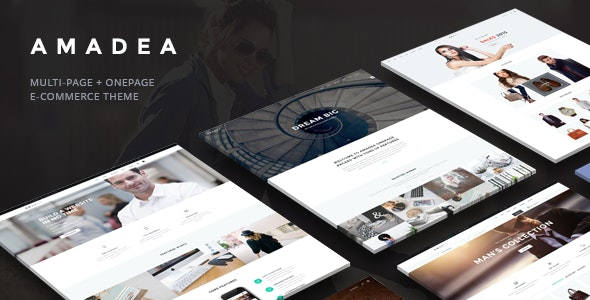 VG Amadea - Multipurpose WordPress Theme - WooCommerce eCommerce