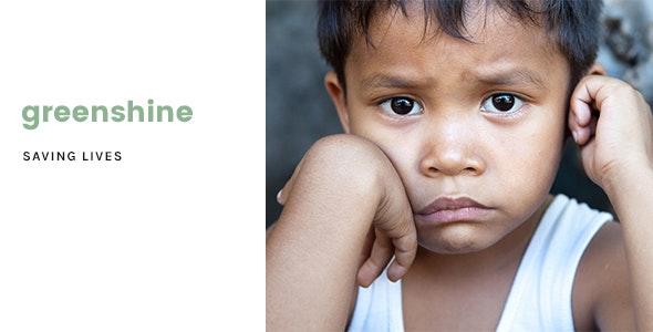 GreenShine - Charity / Non-Profit HTML Template - Nonprofit Site Templates