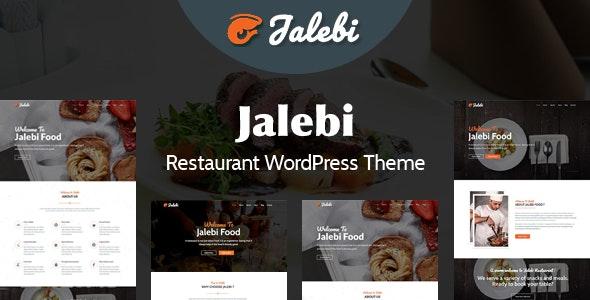 Jalebi - Restaurant WordPress Theme - Food Retail