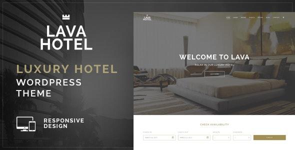 Lava - Luxury Hotel WordPress Theme - Travel Retail