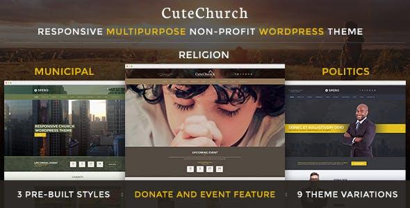 Religion & Political — CuteChurch WP Theme