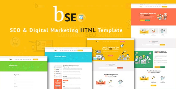 Bseo - SEO & Business HTML Template - Business Corporate