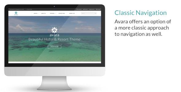 Avara - Hotel and Resort HTML5 Template