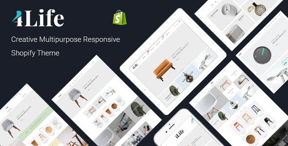 JMS 4Life - Creative Multipurpose Responsive Shopify Theme - Shopify eCommerce