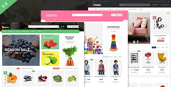 Brezza - Fruit Store Multipurpose WooCommerce WordPress Theme - WooCommerce eCommerce