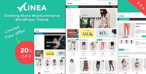 Linea - Clothing Store WooCommerce WordPress Theme - WooCommerce eCommerce